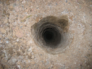 Drilled Dth Pile Hole