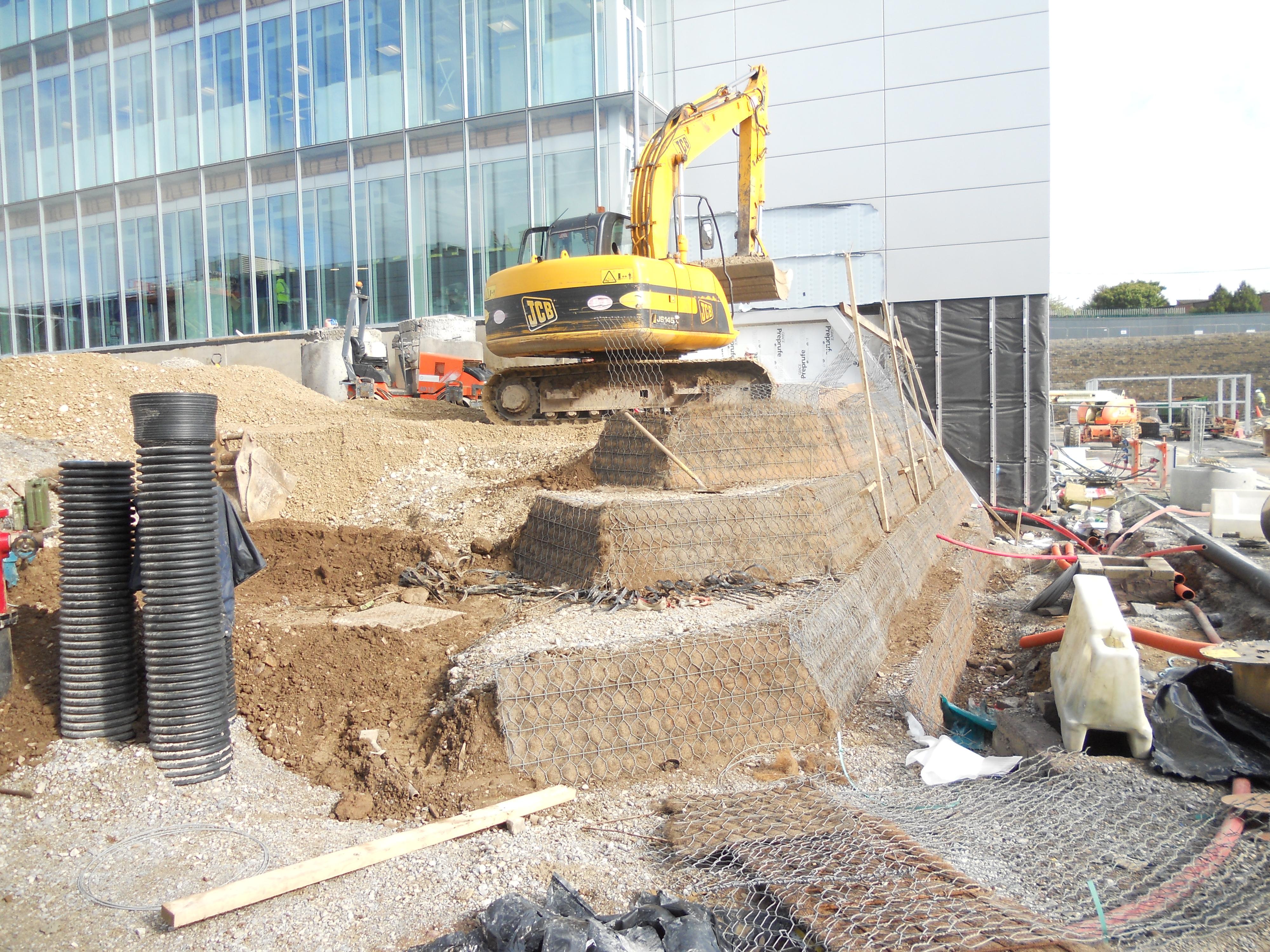 Green Terremesh Retaining Wall Systems