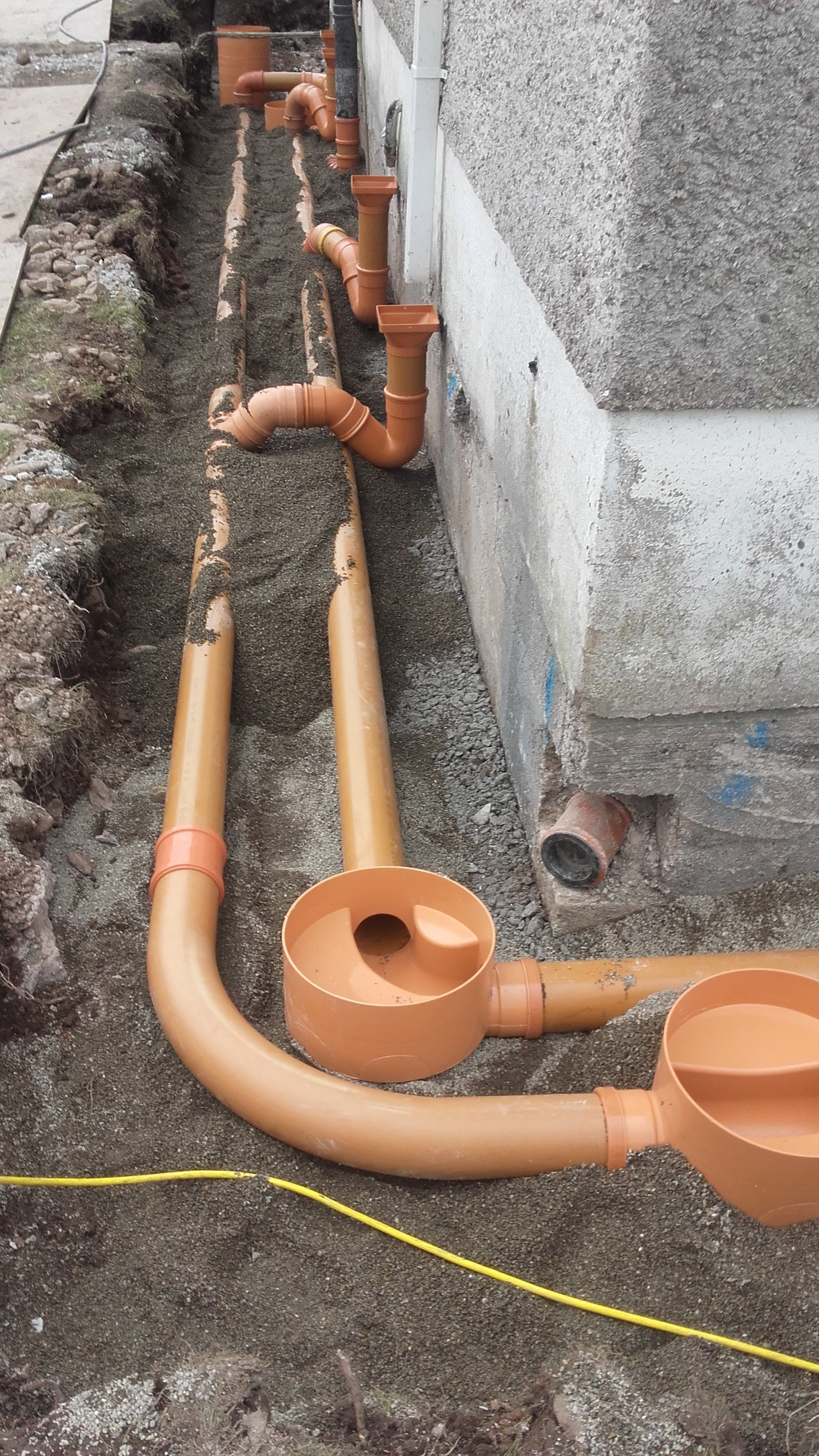 Drainage Works (Pressure Grouting Anchors)