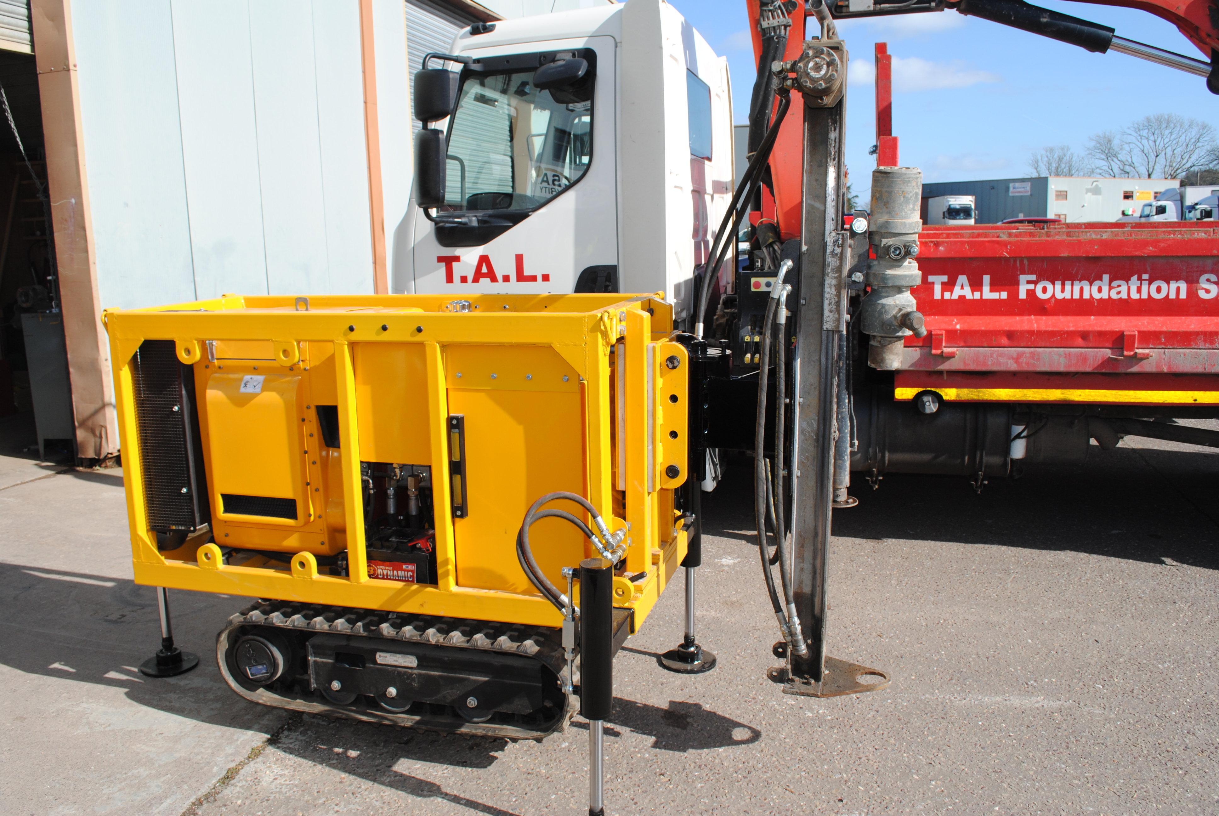Mini Piling, Hollowbar Micro Piles